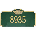 Whitehall - 1 Line Monogram Estate Address Plaques