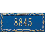 Whitehall - 1 Line Sailor&#039;s Knot Address Plaques