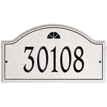Whitehall - 1 Line Boca Raton Carved Stone Address Plaques