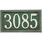 Whitehall - 1 Line Egg & Dart Address Plaques