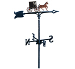 Whitehall - Amish Buggy Garden Weathervanes