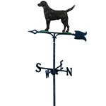 Whitehall - Black Lab Garden Weathervanes