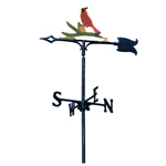 Whitehall - Cardinal Garden Weathervanes