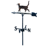 Whitehall - Cat Standing Garden Weathervanes