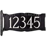 """Whitehall - 4"""" House Number Address Signs"""
