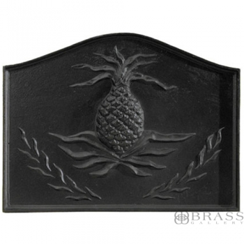 Minuteman - Black Cast Iron Pineapple Fireback