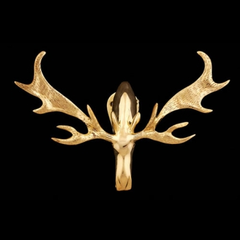 Moose Brass Door Knocker