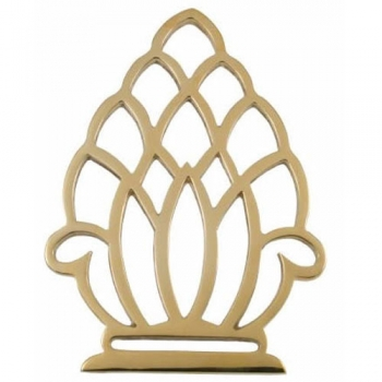 Pineapple Brass Trivet