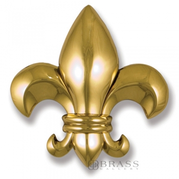 Michael Healy - Brass Fleur de Lys Door Knocker