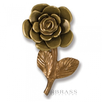 Michael Healy - Brass Rose Door Knocker