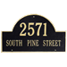 2 Line  Personalized Number Address Plaques Signs