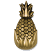 Brass Pineapple Home Decor
