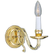 Brass Electric Sconces