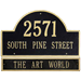 Whitehall Architectural Name & Address Signs
