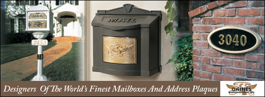 Gaines Manufacturing Mailboxes & Address Plaques
