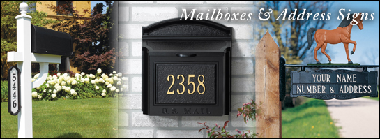 Mailboxes & Post Signs